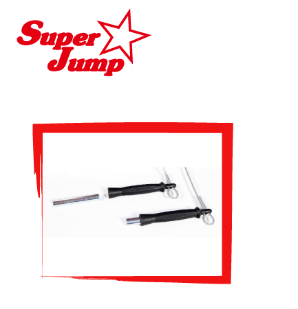 Professional jump rope, retractable weights